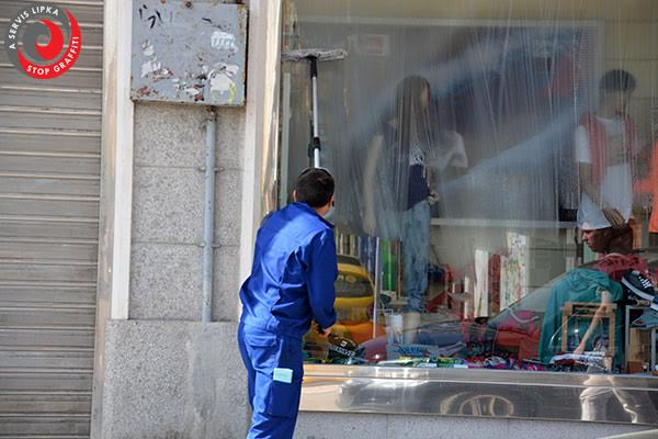 Mytí oken v Brně